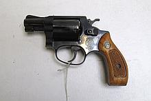 SMITH AND WESSON MODEL 36 DOUBLE ACTION REVOLVER,