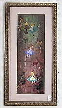 ALICE IN WONDERLAND HAND PAINTED CHARACTER CEL in