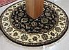 ROUND ORIENTAL AREA RUG, Indo-Persian, hand