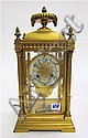 CRYSTAL REGULATOR MANTEL CLOCK, Samuel Marti et