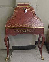 PROVINCIAL STYLE SLANT-FRONT WRITING DESK, 20th
