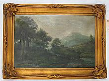 G. WILSON OIL ON CANVAS (British, 19th century)