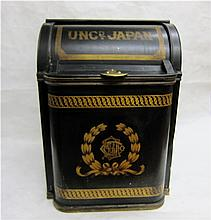 CHINOISERIE METAL RICE OR TEA STORE BIN by maker