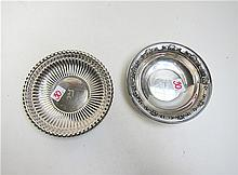 TWO GORHAM STERLING SILVER BOWLS: one, in the