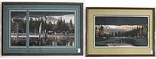 ROD FREDERICK, THREE OFFSET LITHOGRAPHS (Oregon,