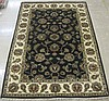 HAND KNOTTED ORIENTAL AREA RUG, Indo-Isfahan, the