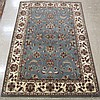 HAND KNOTTED ORIENTAL AREA RUG, Indo-Persian,