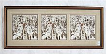 BEV DOOLITTLE, THREE OFFSET LITHOGRAPHS