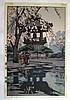 HIROSHI YOSHIDA (1876-1950 JAPAN) WOODCUT PRINT
