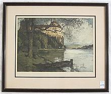 LUIGI KASIMIR ETCHING AND AQUATINT (Austrian,