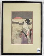AFTER EISHOSAI CHOKI WOODCUT (Japan, active
