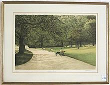 HAROLD ALTMAN COLOR LITHOGRAPH
