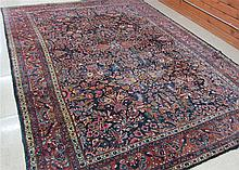 SEMI-ANTIQUE PERSIAN MEHRABAN CARPET, East