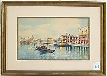 EMILIO BONI WATERCOLOR (Italy, 19th century)