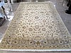 HAND KNOTTED ORIENTAL CARPET, Pakistani-Persian, overall floral decoration on khaki ground, 5'11