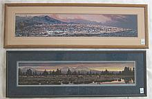 ROD FREDERICK, TWO OFFSET LITHOGRAPHS (Oregon, born 1956) One titled