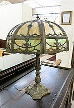 VINTAGE TABLE LAMP, American, c. 1920s, having an