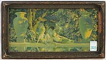 MAXFIELD PARRISH COLOR PRINT,