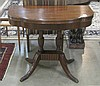 FEDERAL STYLE MAHOGANY GAME TABLE, American,