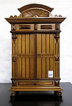 A SMALL BAROQUE STYLE CABINET, German, c. 1900,