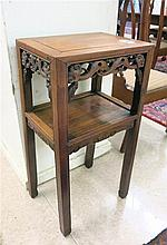 MING STYLE HUANGHUALI PEDESTAL TABLE, Chinese,