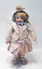 FRENCH S.F.B.J.  BISQUE HEAD GIRL DOLL, mold #21,