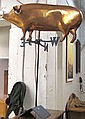 COPPER PIG WEATHER VANE, made by John Garret Thew