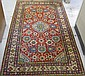 HAND KNOTTED ORIENTAL AREA RUG, overall floral