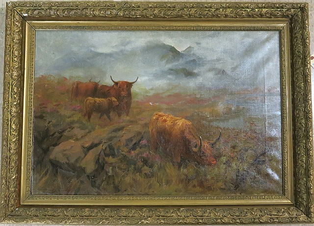 L.C. MITCHELL OIL ON CANVAS (Irish, 19th/20th