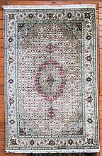 HAND KNOTTED ORIENTAL AREA RUG, Persian Bidjar