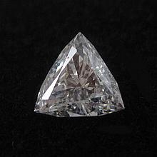 UNSET DIAMOND WITH GIA DIAMOND REPORT. The