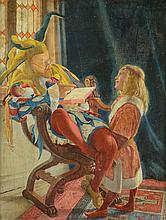 HARRY BROOKER OIL ON PANEL (British, 1848-1940)
