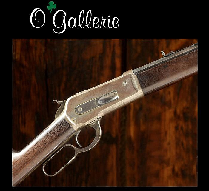 WINCHESTER MODEL 1886 LEVER ACTION RIFLE, 40-82