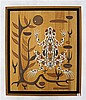 EMILE NORMAN WOOD INLAY PANEL (California,