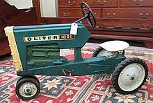 CHILD'S RIDING PEDAL TRACTOR, Oliver 1800, model