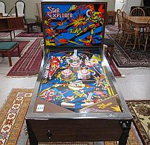 STAR EXPLORER PINBALL MACHINE, Sentinel Inc.,