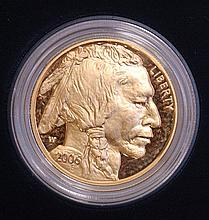 2006 AMERICAN BUFFALO GOLD PROOF COIN, $50