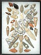 CASED COLLECTION NATIVE AMERICAN INDIAN ARROW