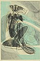STANLEY WILLIAM HAYTER COLOR ENGRAVING WITH