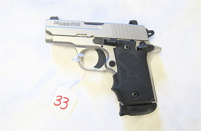 SIG SAUER MODEL P238 STAINLESS SINGLE ACTION