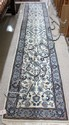 HAND KNOTTED ORIENTAL RUNNER, Persian Isfahan