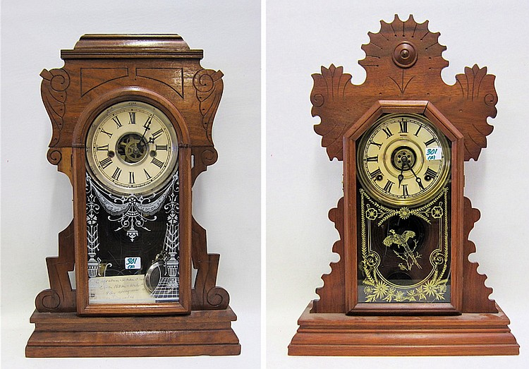 TWO AMERICAN INGRAHAM KITCHEN ALARM CLOCKS: each