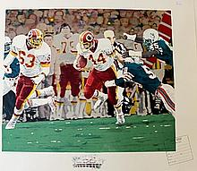 Rose Bowl, Stamped Lithograph