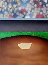 Baseball Home Plate Lithograph