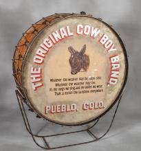 Jack Sinclair's Cowboy Band Parade Drum
