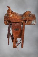 Rex Cauble / Cutter Bill Trophy Saddle