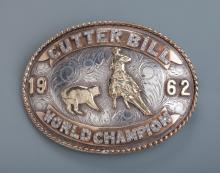 Cutter Bill Trophy Buckle & Slide
