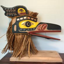 David Mungo Knox, Kwakiutl Raven headdress