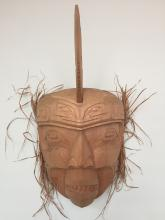 Stanley C. Hunt, Kwakiutl, Killerwhale cedar mask