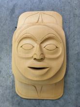 Robert Kelly, Coast Salish- Moon Mask